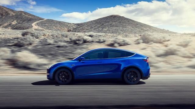 2020 Tesla Model Y design