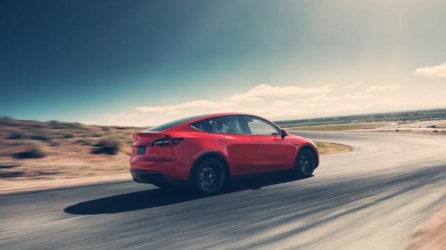 2020 Tesla Model Y exterior