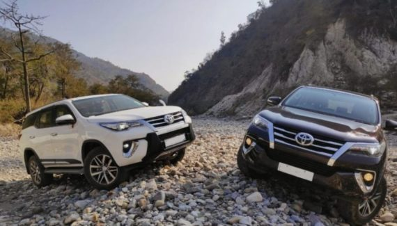 2020 Toyota Fortuner front look