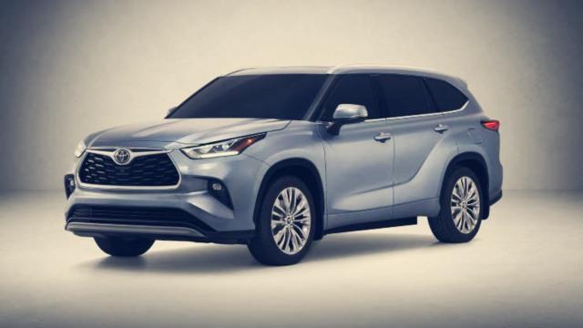 2020 Toyota Highlander Hybrid exterior