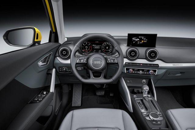 2020 Audi Q1 Interior