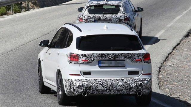 2020 BMW X1 rear