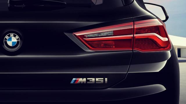2020 BMW X2 M35i rear