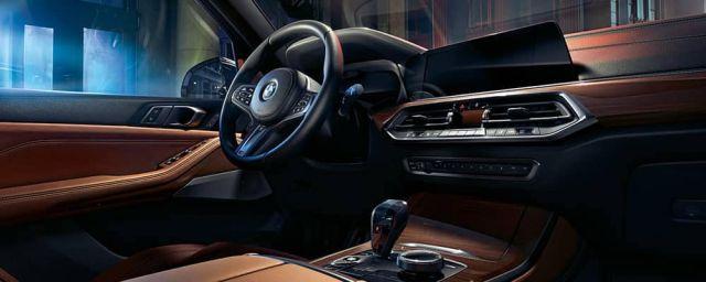 2020 BMW X5 M interior