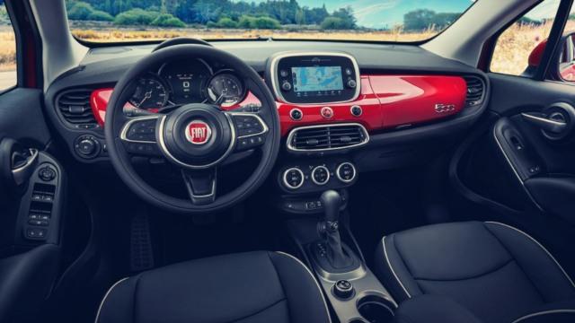 2020 Fiat 500X interior