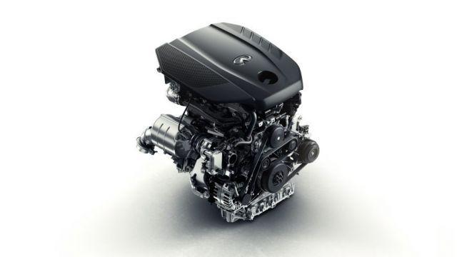 2020 Infiniti QX30 engine
