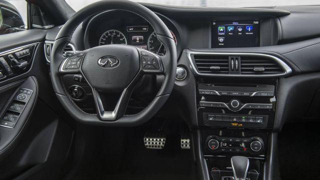 2020 Infiniti QX30 interior