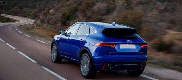 2020 Jaguar E-Pace side