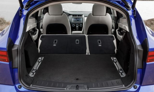 2020 Jaguar E-Pace trunk