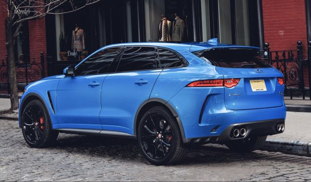 2020 Jaguar F-Pace SVR rear