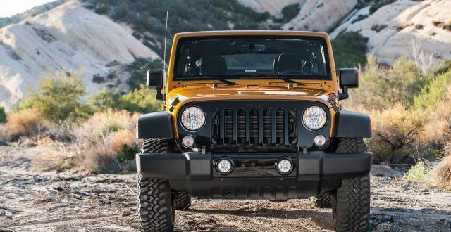 2020 Jeep Wrangler Unlimited front