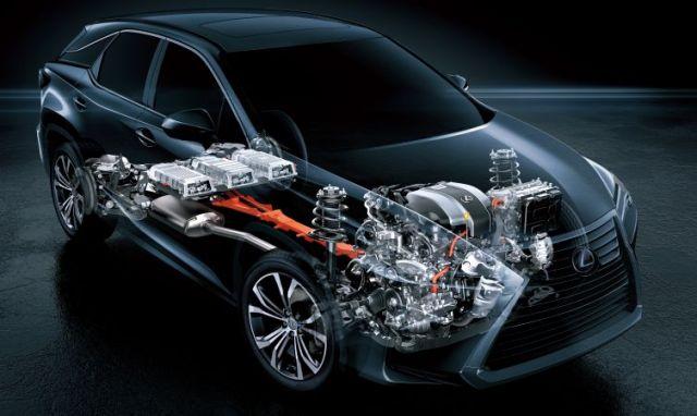 2020 Lexus RX 450H engine