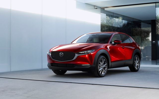 2020 Mazda CX-30 front