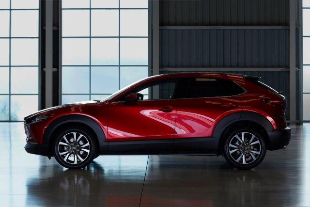 2020 Mazda CX-30 side