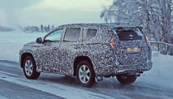 2020 Mitsubishi Montero spy photo