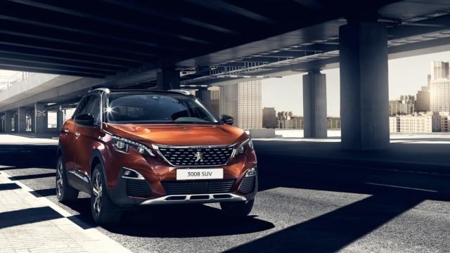 2020 Peugeot 3008 facelift