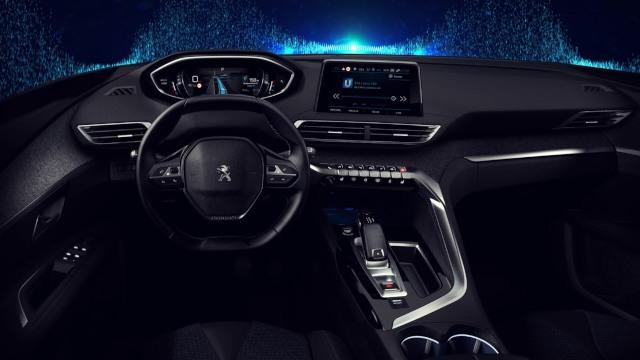 2020 Peugeot 3008 interior