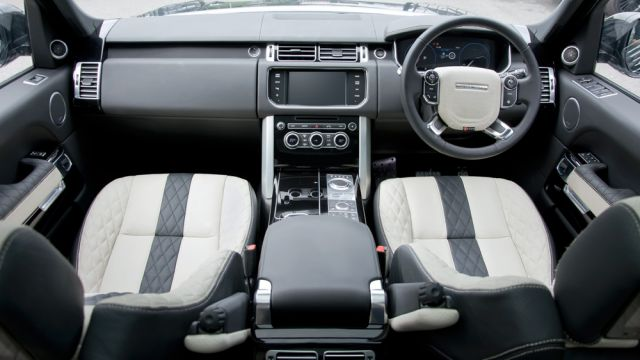 2020 Range Rover Vogue interior