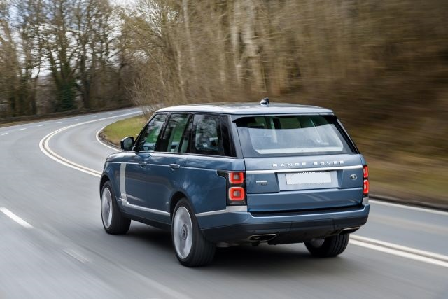 2020 Range Rover Vogue rear