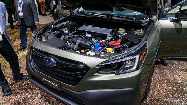 2021 Subaru Outback engine