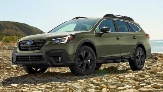 2021 Subaru Outback side