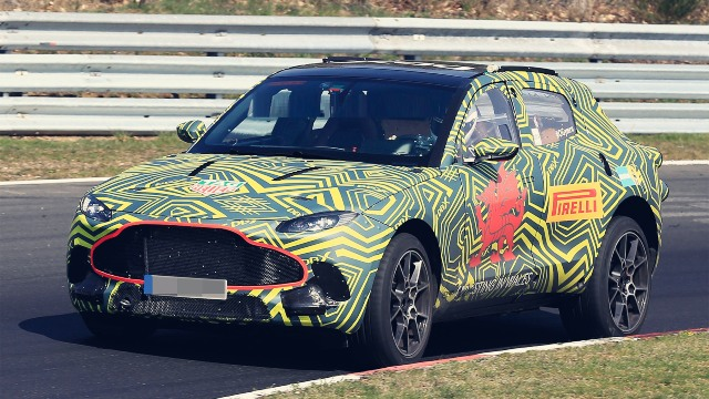 2020 Aston Martin Varekai spy photo