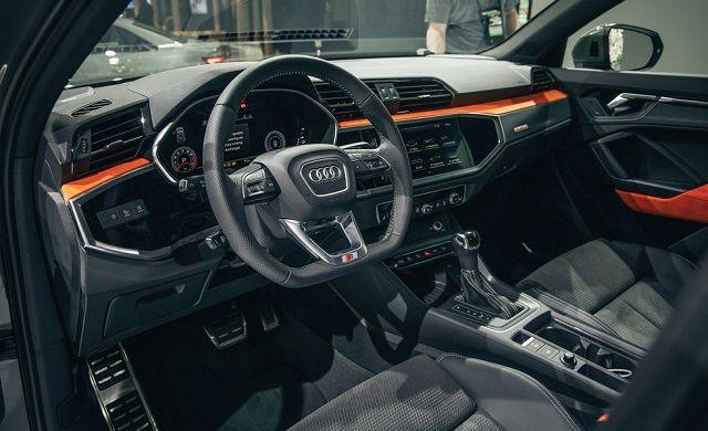 2020 Audi Q4 interior