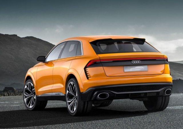 2020 Audi Q4 rear