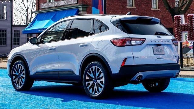 2020 Ford Escape Hybrid rear