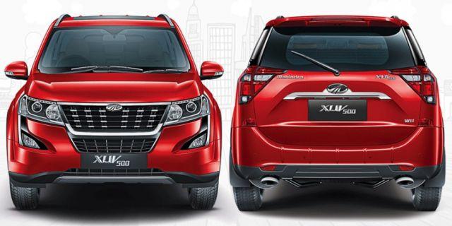 2020 Mahindra XUV500 rear