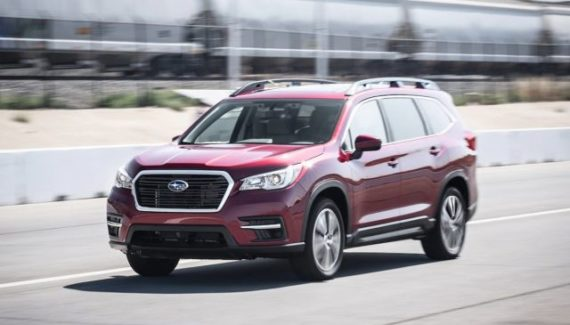 2020 Subaru Ascent front