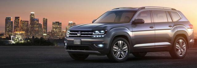 2020 VW Atlas side