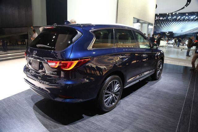 2021 Infiniti QX60 rear