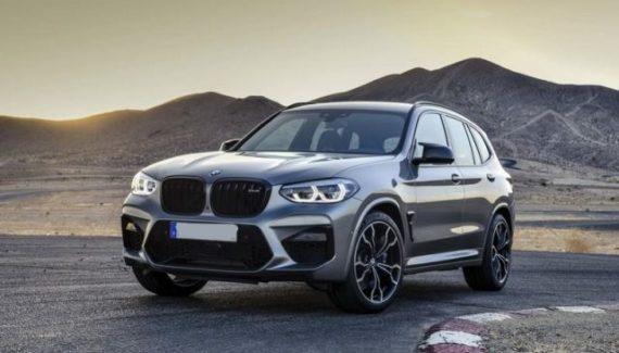 2020 BMW X3 M front