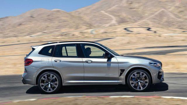 2020 BMW X3 M side