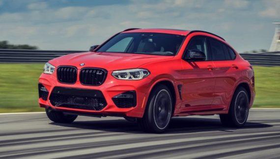 2020 BMW X4 M exterior