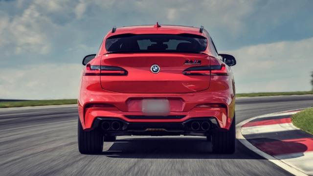 2020 BMW X4 M rear