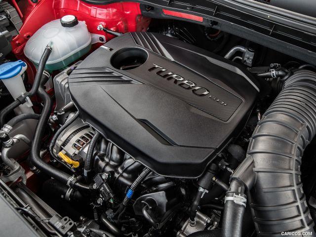 2020 Kia Soul GT engine