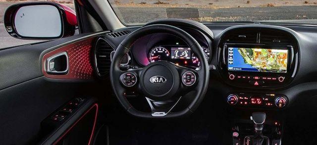 2020 Kia Soul GT interior