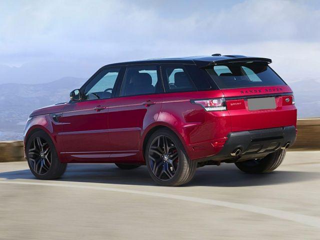 2020 Land Rover Range Rover Sport rear