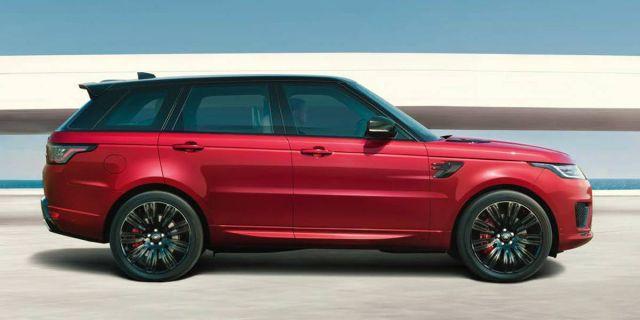 2020 Land Rover Range Rover Sport side