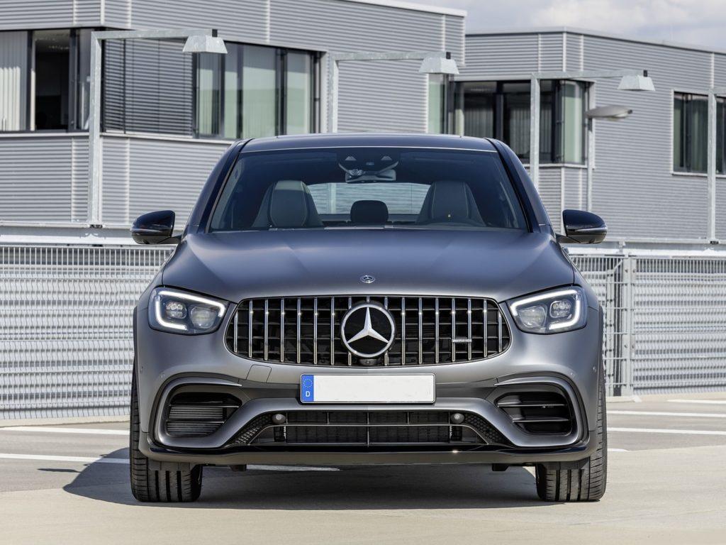 2020 Mercedes AMG GLC 63 S front