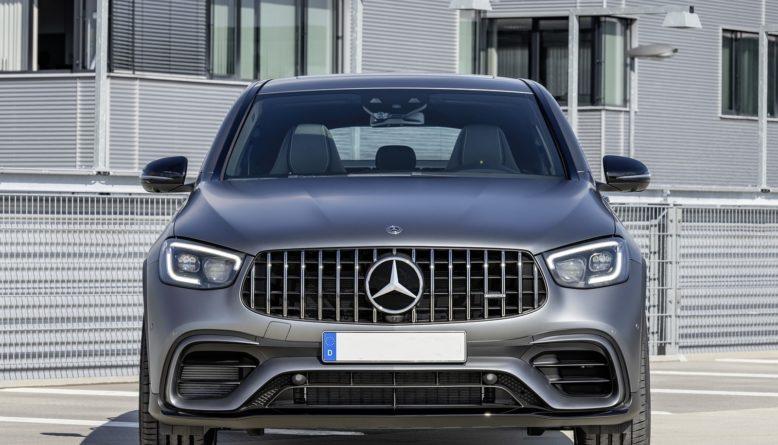 2020 Mercedes AMG GLC 63 S front