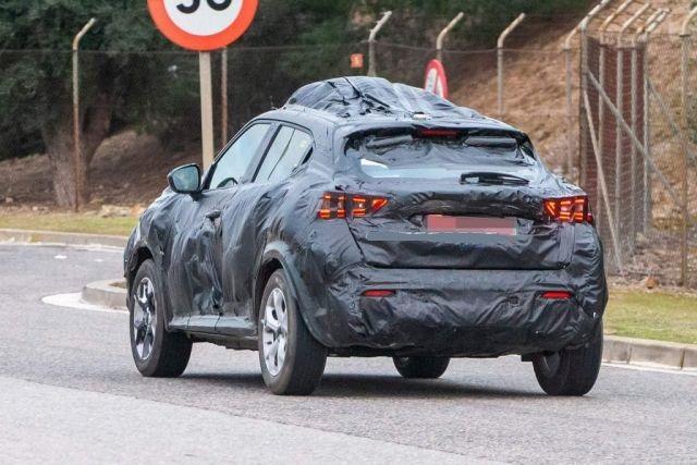 2020 Nissan Juke rear