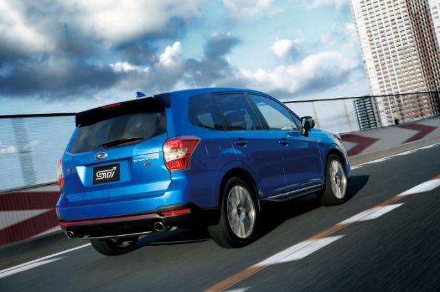 2020 Subaru Forester STI rear