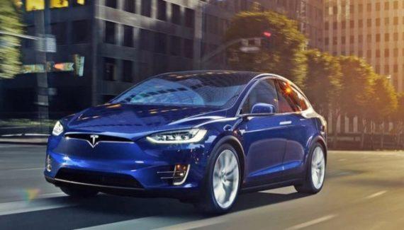 2020 Tesla Model X exterior