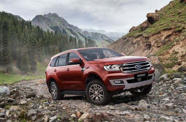 2021 Ford Everest front