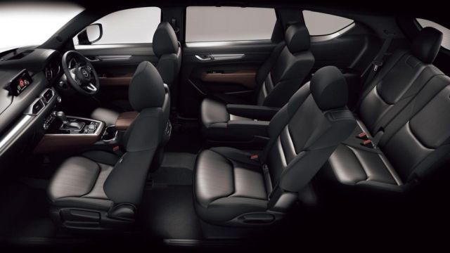 2021 Mazda CX-9 interior