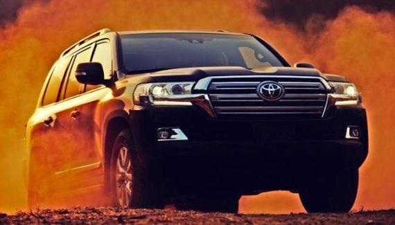 2021 Toyota Land Cruiser redesign