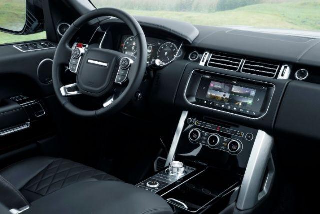 2020 Land Rover Range Rover Velar cabin